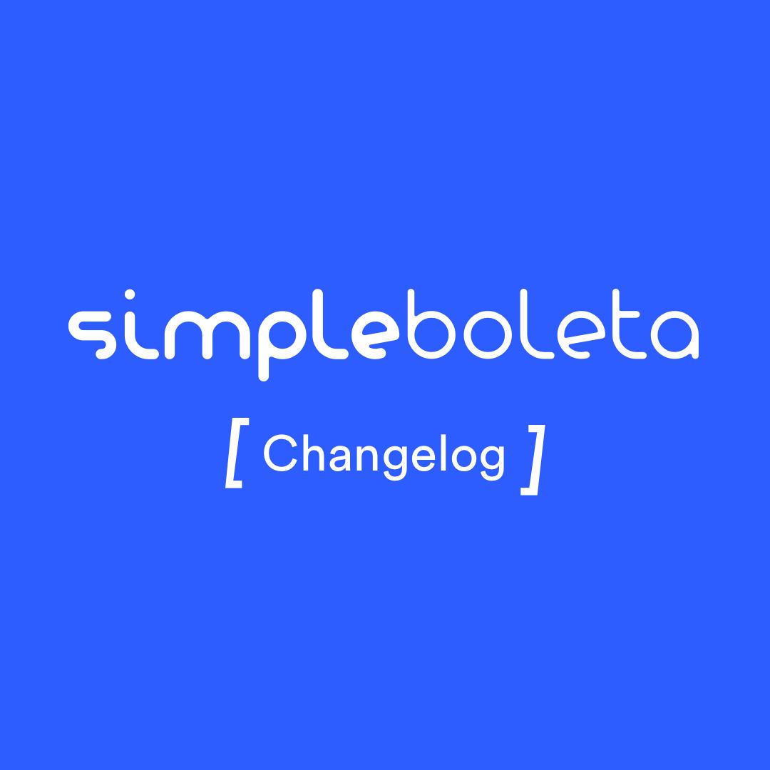 Changelog Simpleboleta